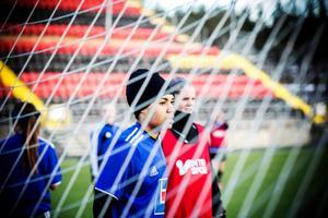 Nicole McClure är ny målvakt i Sundsvalls DFF. Bilden är från 2014, då hon tillhörde ÖDFF.Bild: Frida Hansson