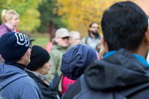 Många Södertäljebor fanns med bland deltagarna.