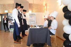 När Klas Jonsson, Rasmus Hedkvist och Alfons Sundkvist skulle välja vad de skulle laga gick de på magkänslan.