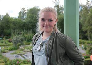 Elida Thunell från Järvsö tävlar i SVT-programmet Genikampen.