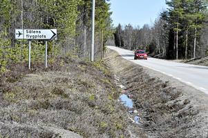 Nu kan bygget av nya flygplatsvägen i Sälen starta.