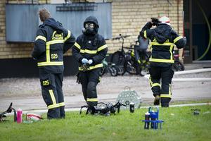 Räddningstjänsten fick kontroll på branden.
