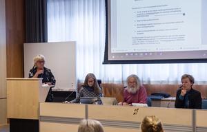 Margareta Nybom Persson föredrog ärendet för omsorgsnämnden. Förvaltningschef Ingrid Sundström berättade att förändring i tillämpningsriktlinjer också är att vänta.