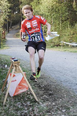 Jerker Lysell var inte helt nöjd efter sin andraplats i Luleås sprint.