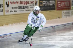 Joakim Johansson i Hammarbys tröja.