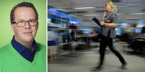 Arbetsgivare som vill vara attraktiva för unga och bibehålla kompetens måste visa att de tar arbetsmiljöfrågor på allvar. Foto: Camilla Svensk och Janerik Henriksson/TT