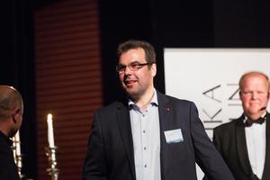 Tomas Tillman blev utsedd till Årets företagare i Ludvika. 2015 fick han pris för Årets prestation.