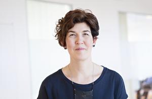 Jenny Hakeberg är kommunikatör på elbolaget Vattenfall. Foto: Vattenfall