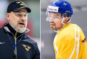 Rikard Grönborg har ett stort förtroende för Anton Lander. Foto: Simon Hastegård / Bildbyrån