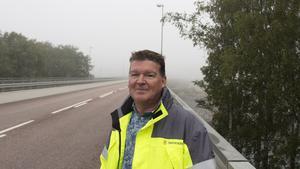 Att hålla ett körfält öppet och låta trafiken passera  via signaler var inte ett alternativ, enligt John Löfgren.