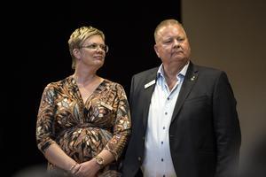Utför inte bara ett yrke utan också ett personligt kall, skolledningen på Lorensberga skola, Madelene Goldmann och Göran Törnqvist.