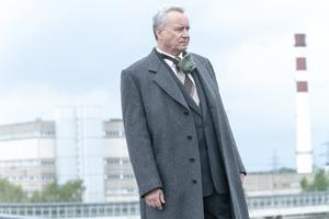 """Stellan Skarsgård spelar den sovjetiska höjdaren Boris Sjtjerbina i HBO-serien """"Chernobyl"""". Pressbild: HBO Nordic"""