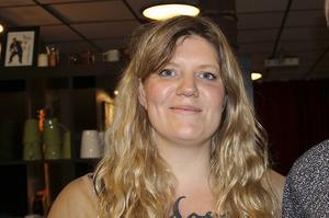 Angelica Andersson fick flest personkryss i Vänsterpartiet och en plats i fullmäktige. Foto: Kristina Vahlberg