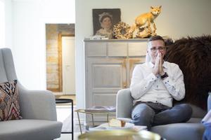 Jeroen Sleurs funderade på vad han skulle kunna jobba med när han flyttade till Åmot och kom fram till svaret