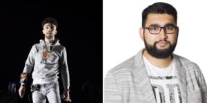 Den svenske rapparen Z.E har spelat in en video tillsammans med några advokater.
