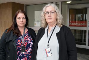Både Ingrid Norberg och Belinda Mattsson på Kommunal i Borlänge blev arga när de hörde talas om bonustrappan för vikarier.