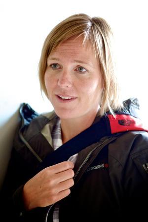Anna Björkman, verksamhetschef vid Falu gruva.