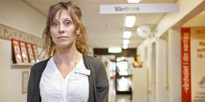 Marie Norrmén, verksamhetschef på Achima Care iSala, har som mål att de ska skriva ut minst antibiotika i hela länet.