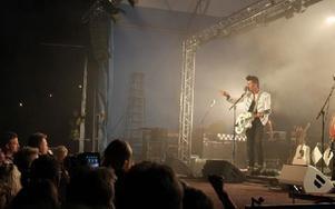 Publiken bjöds på rock från 50-talet. Foto: Kalle Sundin
