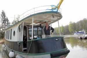 Torbjörn Larssons fartyg hade tillbringat sin nionde vinter i torrdockan.