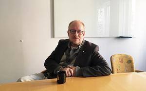 Erik Olsson vill föra en dialog med Härnösandsborna om hur staden ska byggas.