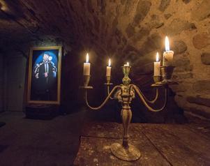 Gustav Vasa är en av de historiska karaktärerna som kommer till liv när Örebro slott förvandlas till spökslott under höstlovet.