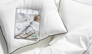 Första Ikea-katalogen 2020 har tema god sömn och är även en hyllning till John Lennons och Yoko Onos historiska fredliga protester för fred.