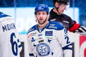 Alex Friesen har varit Leksands klart bästa offensiva spelare denna säsong. Sexa i poängligan med 42 pinnar på 51 matcher. Foto: Bildbyrån.