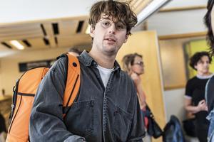 Albin Lee Meldau. Foto: Karl Melander / TT