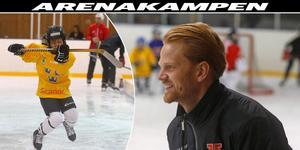 Robert Bergh är sportansvarig i Örebro Hockey Ungdom. En klubb med många ungdomar som är i stort behov av fler isytor.