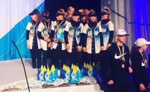 Hiphopgruppen Seven Souls kom på tredje plats i junior-SM.