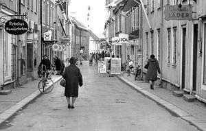 Norra Storgatan i Eksjö cirka 1970