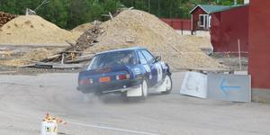 Full fart runt gamla sågen i Sveg.
