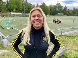 Pernilla Gefvert är ordförande för Ösmo GIF Fotboll. Foto: Nynäshamns kommun