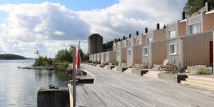 Fritidshus på Oaxen, nominerad till Årets byggnadsverk. Foto: Camilla Hjort