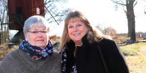 Britt Andersson och Marie-Louise Pettersson är stolta över Erikskulle.