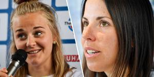 Stina Nilsson och Charlotte Kalla var besvikna.