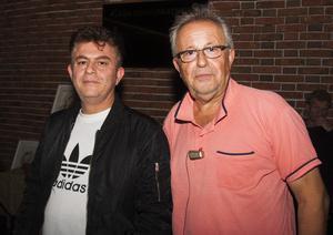 VLT Osignat. Robert och Kalle. Foto: Fabian Zeilitz
