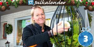 Ingela Andersson driver Stöde-Mix i Stöde. En present- och blomsterbutik.