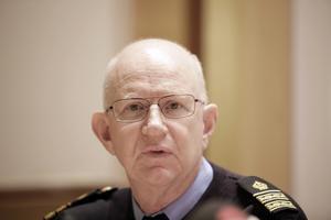 Börje Sjöholm, före detta kriminalkommissarie, numera pensionär, kom in i utredningen i ett senare skede Bild: TT