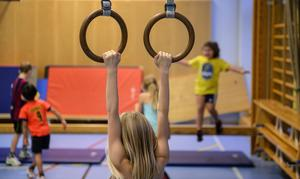 Fler elever och fler idrottslektioner skapar brist på gymnastiksalar i centrala Leksand.(Foto: Anders Wiklund / TT)