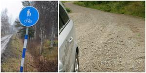 Det visade sig inte vara så lätt att få till en gång- och cykelväg, eller ens en ännu enklare cykelled, till Taxinge.