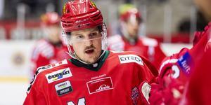 Patrik Karlkvist var matchens dominant och inblandad i alla mål. Bild: Erik Mårtensson/Bildbyrån