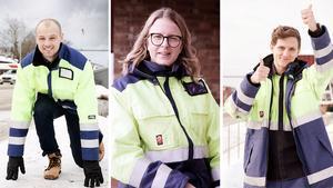 Marcus Lorén, Sandra Mickelsson och Ante Vallien har alla avancerat snabbt på Outokumpu i Avesta - mycket tack vare det populära graduateprogrammet.