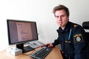 David Redin, gruppchef för utredning på polisen i Jämtland/Härjedalen.