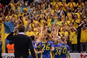 Två guld av två möjliga blev Andreas Lundmarks fina facit som förbundskapten för damlandslaget.Foto: IFF