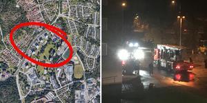 Bilden är ett montage. Bild: Google Maps & Kristian Hjertkvist