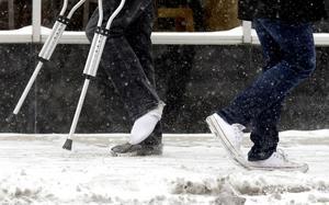 Fotgängarna är den största trafikantgruppen som drabbas av invalidiserande skador.