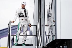 Nico Rosberg på Silverstone