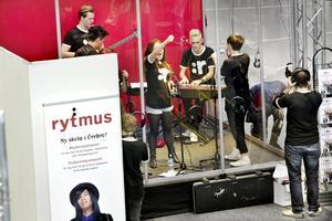 Musik på schemat. Rytmusgymnasiet med musikutbildning är en av två nya gymnasieskolor som startas i höst.